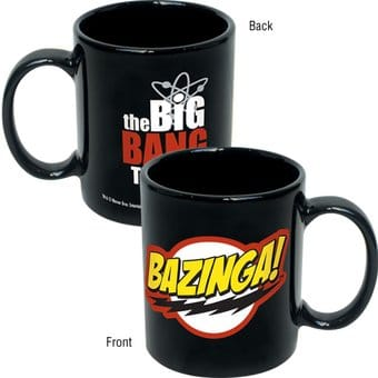 The Big Bang Theory - Bazinga! 12 oz. Black