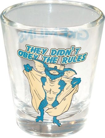 They Didn't Obey the Rules - Clear Shot Glass