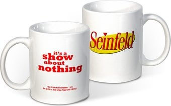 Seinfeld - The Show About Nothing 12 oz. Ceramic