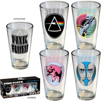 Pink Floyd - Collector's Series 4 Piece Pint