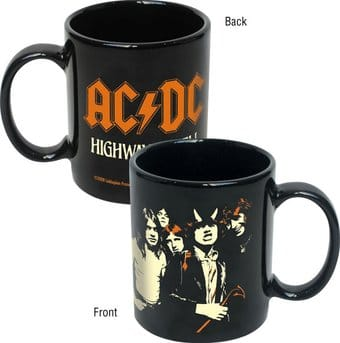 AC/DC - Highway To Hell 12 oz Black Coffee Mug