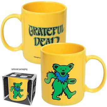 Dancing Bears - Yellow 12 oz. Ceramic Mug