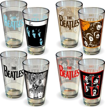 Albums: 4-Pack Pint Glass Set