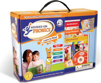 Hooked on Phonics: Learn to Read Box Set