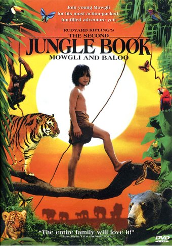 Rudyard Kipling's The Second Jungle Book: Mowgli