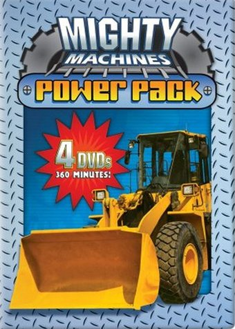 Mighty Machines Power Pack (4-DVD)