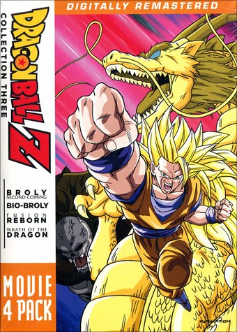 Dragonball Z - Film Collection Three (4-DVD)