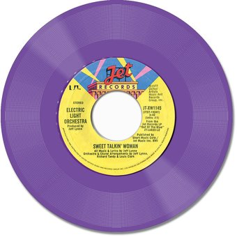 Sweet Talkin' Woman / Fire On High (Purple Vinyl