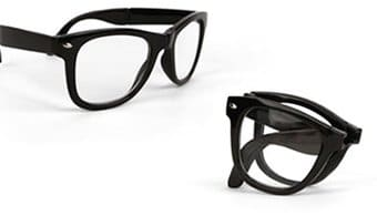 Retro Glasses - Folding Readers +1.5 Strength