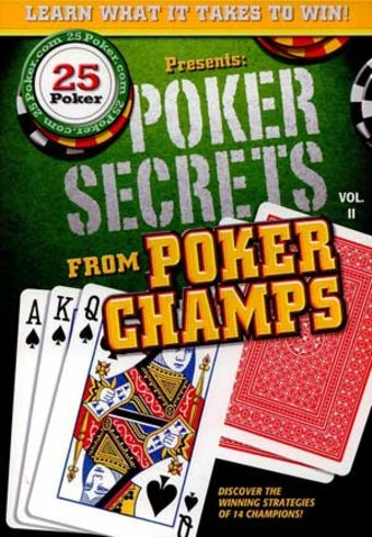 Poker Secrets from Poker Champs, Volume 2