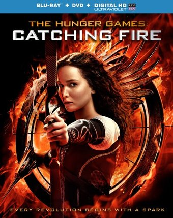 The Hunger Games: Catching Fire (Blu-ray + DVD)