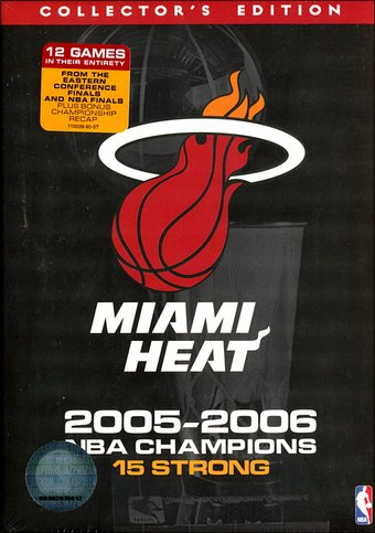 Basketball - NBA Miami Heat 2005-2006 Champions