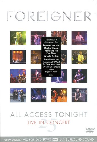 All Access Tonight: Live in Concert 25th