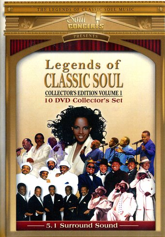 Legends of Classic Soul, Volume 1 (10-DVD)