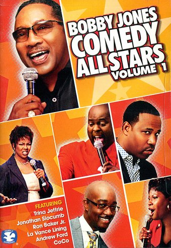 Bobby Jones - Comedy All Stars, Volume 1