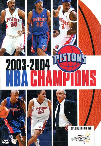 Basketball - Detroit Pistons: 2003-2004 NBA