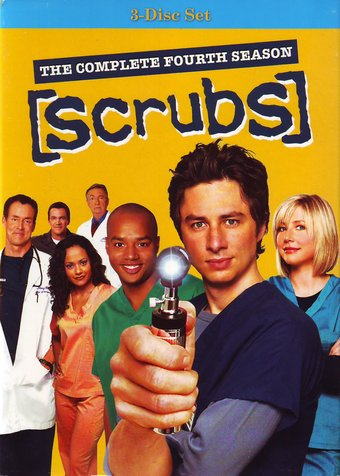 Scrubs - Complete 4th Season (3-DVD)