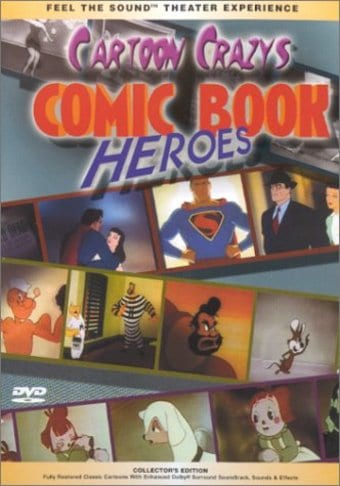Cartoon Crazys: Comic Book Heroes