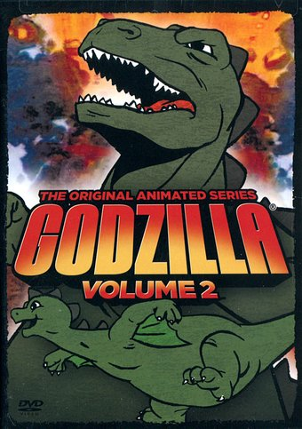 Godzilla: Original Animated Series - Volume 2