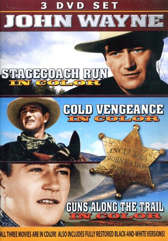 In Color (Stagecoach Run / Cold Vengeance / Guns