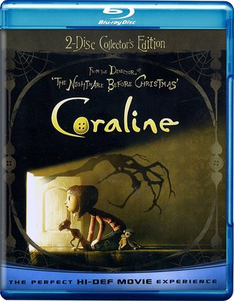 Coraline (Blu-ray, 2-Disc Collector's Edition,