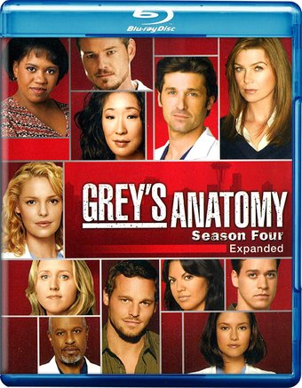 Grey's Anatomy - Season 4 (Blu-ray)