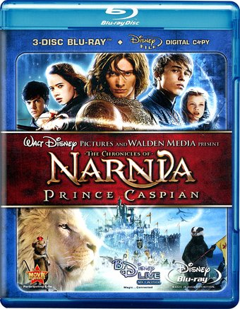 The Chronicles of Narnia: Prince Caspian (3-Disc