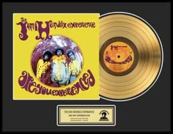 Are You Experienced - Framed Limited Edition Gold