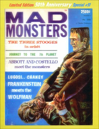 Mad Monsters #5 (Limited Edition - 50th