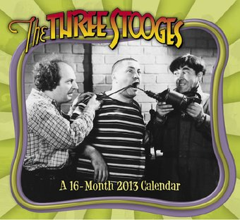 The Three Stooges - 16-Month 2013 Wall Calendar