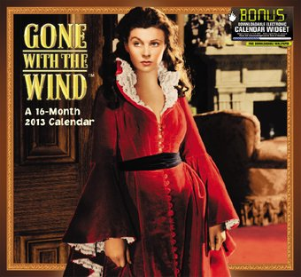 Gone With The Wind - 16-Month 2013 Wall Calendar