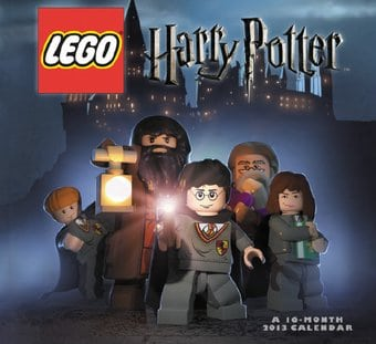 Lego Harry Potter - 16-Month 2013 Wall Calendar