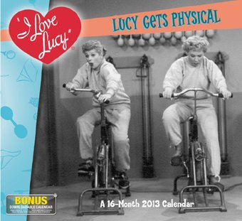 I Love Lucy - 16-Month 2013 Wall Calendar