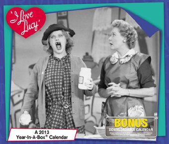 I Love Lucy - Year-in-a-Box Calendar