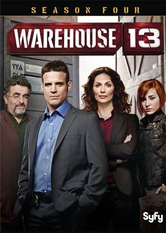 Warehouse 13 - Season 4 (5-DVD)
