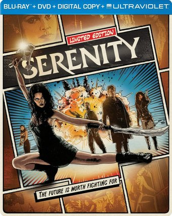 Serenity - Limited Edition (Blu-ray + DVD)