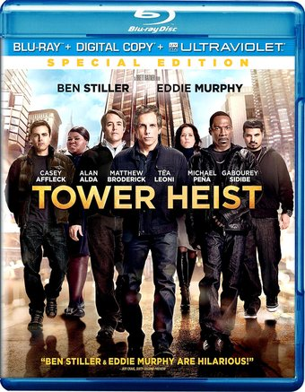 Tower Heist (Blu-ray, Includes Digital Copy,