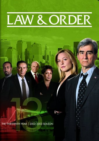 Law & Order - Year 13 (5-DVD)