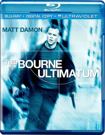 The Bourne Ultimatum (Blu-ray, Includes Digital