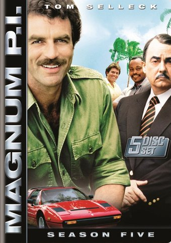 Magnum P.I. - Complete 5th Season (5-DVD)