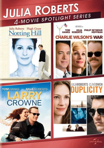 Julia Roberts: 4-Movie Spotlight (3-DVD)