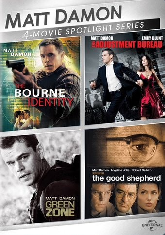 Matt Damon: 4-Movie Spotlight (3-DVD)