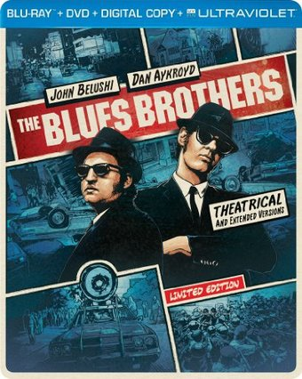 The Blues Brothers [Steelbook] (Blu-ray + DVD)