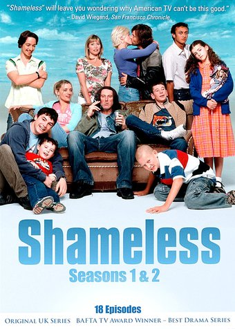 Shameless (UK) - Seasons 1 & 2 (4-DVD)