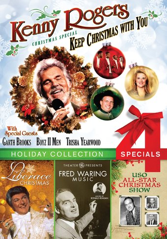 Holiday Collection: 4 Specials (Kenny Rogers