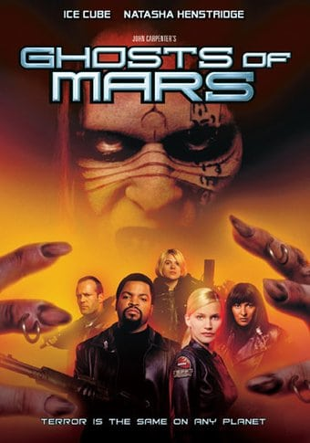 Ghosts Of Mars Dvd 2001 Directed By John Carpenter