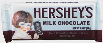 Hershey's Milk Chocolate - Nostalgic Candy Bar