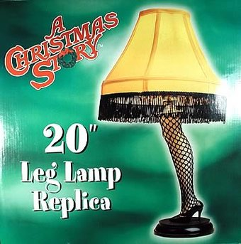 "A Christmas Story - 20"" Desk Leg Lamp"