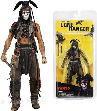 "The Lone Ranger (2013) - 7"" Tonto Action Figure"