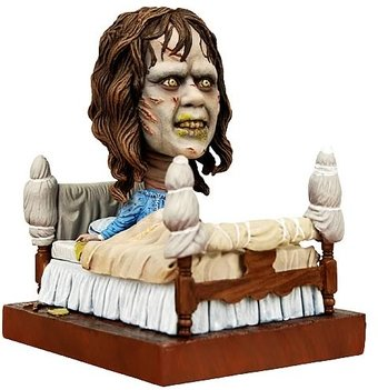 The Exorcist - Regan in Bed Head Knocker